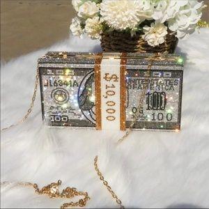 Hustlers Stack of Cash Money Clutch
